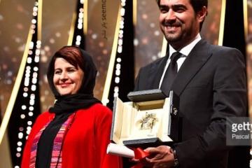 شهاب حسینی برنده نخل طلایی جشنواره کن