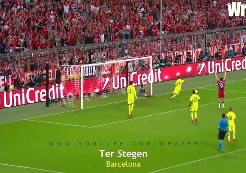 10 نجات دروازه Save غیرممکن در مسابقات فوتبال