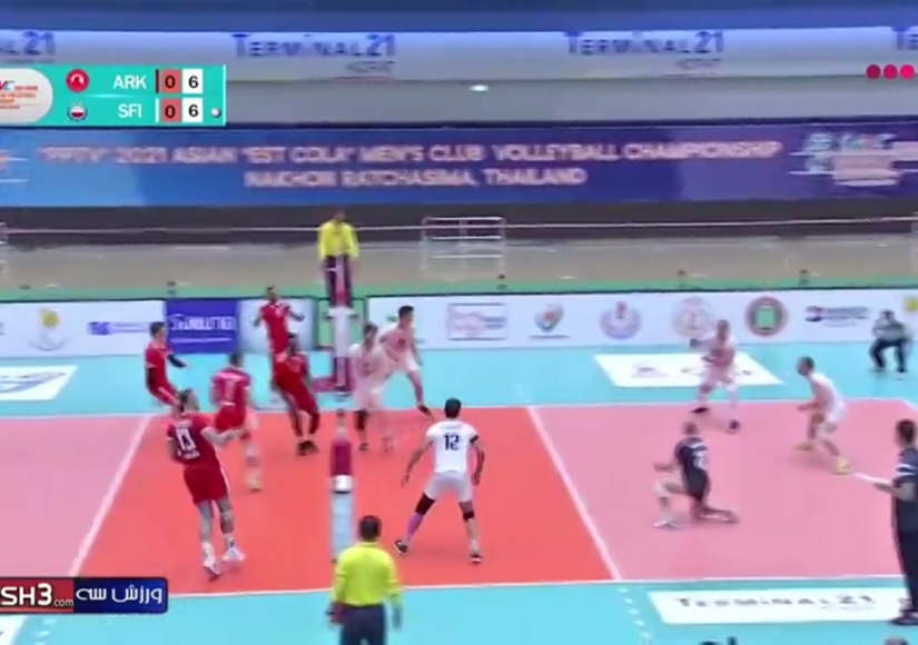 والیبال فولاد سیرجان 3 - العربی قطر 1