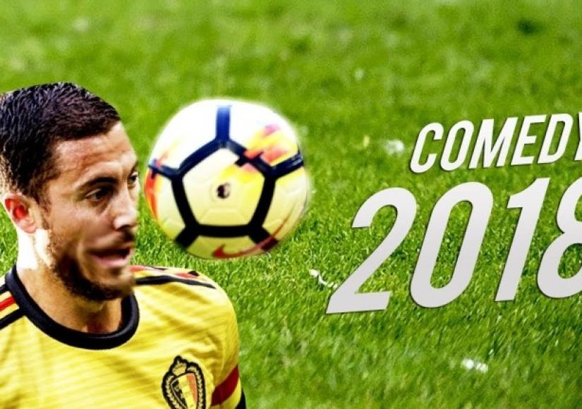 صحنات کمدی فوتبال در سال 2018