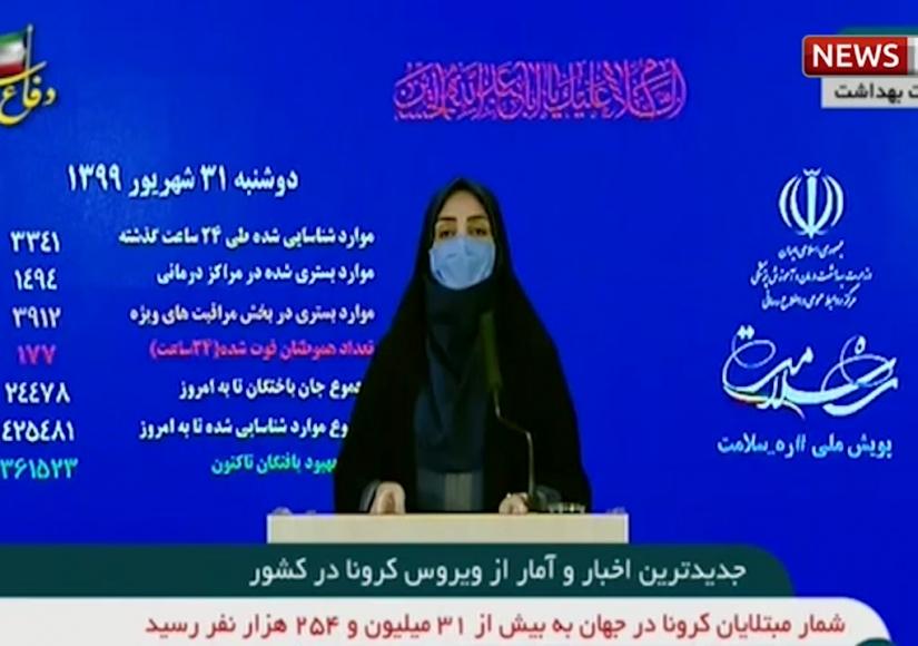 آمار مبتلایان به کرونا در ایران - ۳۱ شهریور ۱۳۹۹