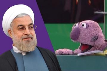 شوخی جناب خان با کلید روحانی
