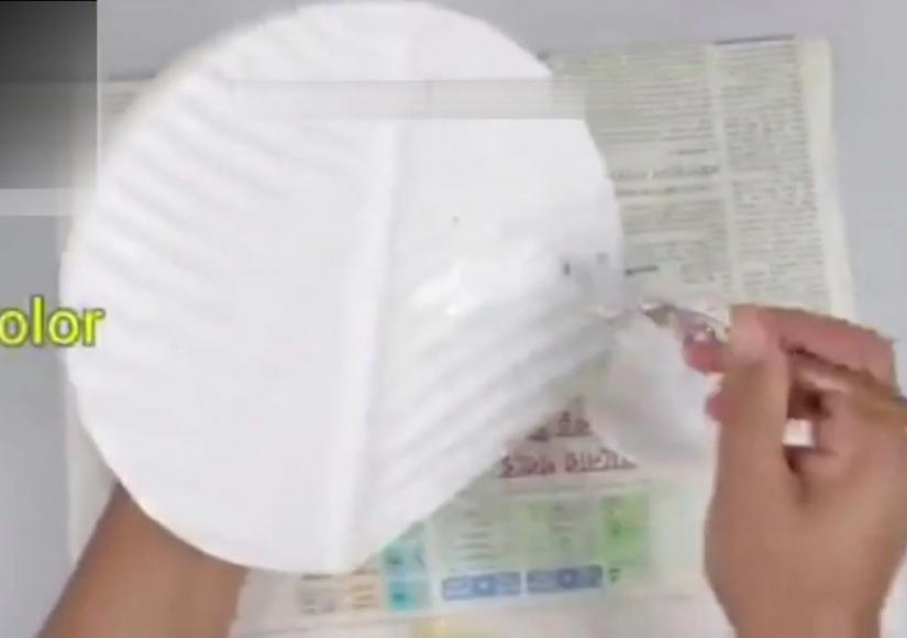 آموزش ساخت گلدان لاکچری