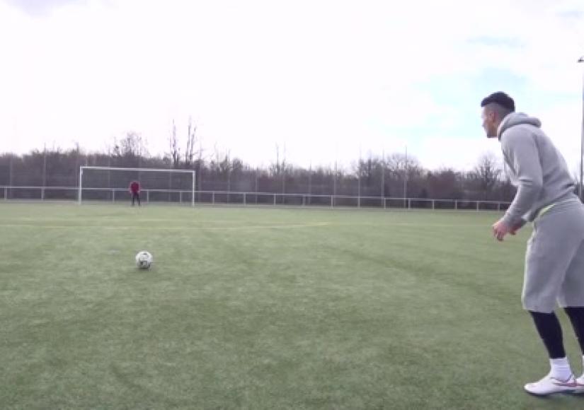 آموزش فوتبال : این قسمت آموزش شوت